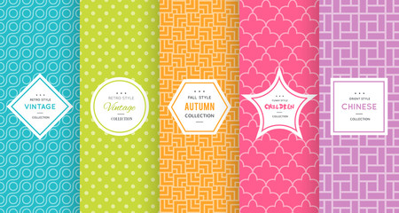 Cute bright seamless pattern background