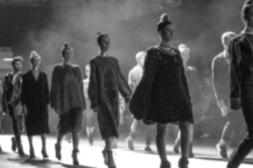 Fashion Show, Catwalk Runway Event, Fashion Week themed photograph blurred on purpose.