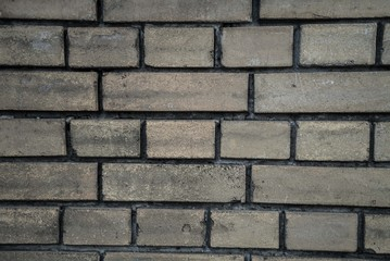 old grey and dirty bricks