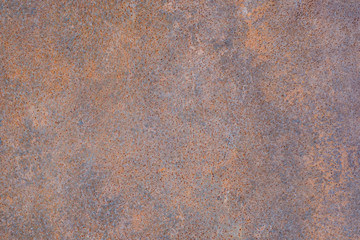 Iron sheet with corroded rust for background