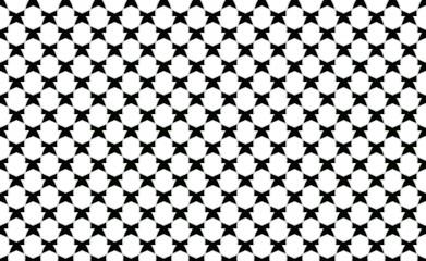 Abstrakcjonistyczny czarny i biały deseniowy projekt dla tła