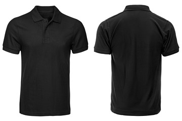 Black Polo shirt, clothes