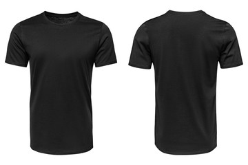 Czarny t-shirt, ubrania
