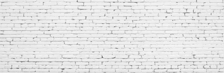 White old brick wall urban Background.