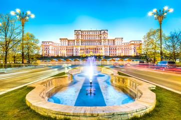 Pałac Parlamentu, Bukareszt, Rumunia.