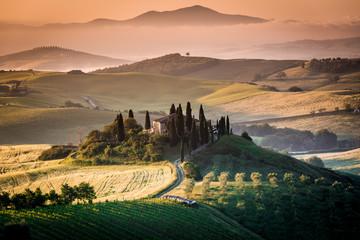 Tuscany, spring  landscape