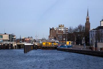 Zaandam, Olanda, edifici sull'acqua
