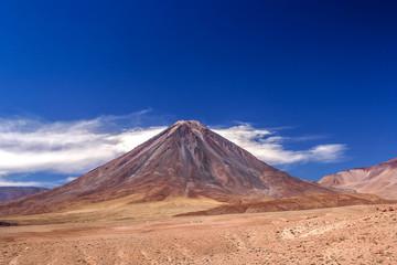 Licancabur Volcano in Bolivia