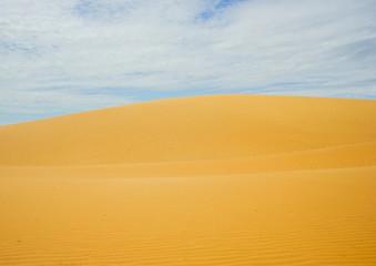 desert sand dune clouds