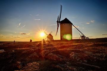 Sunset in Castilla-La Mancha