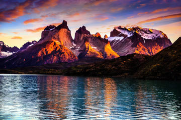 patagonia, mountains, hills,