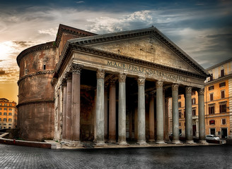 Ancient roman Pantheon