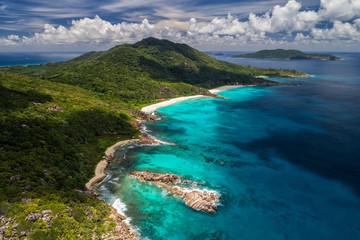Beautiful nature at the Seychelles