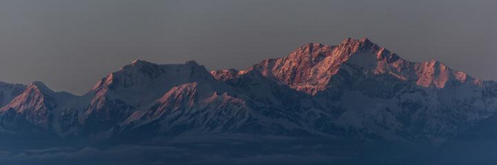 Sunset Mount Kangchenjunga