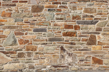 natural stone wall for background use