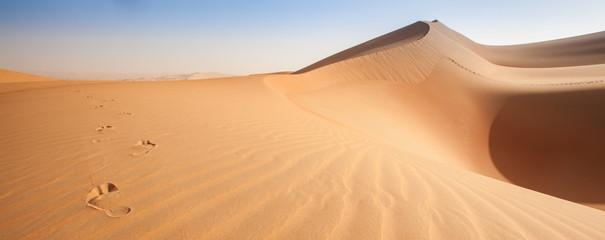 Wzory wydm Pustej dzielnicy - arabskiej pustyni