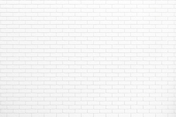 white brick wall texture for background usage as a backdrop design