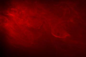 Red Smoke on black
