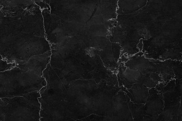Black marble patterned texture background. marble of Thailand, abstract natural marble black and white for design.