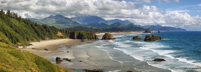 Cannon Beach w stanie Oregon