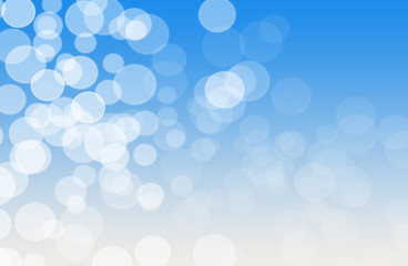 Blue and white soft focus background