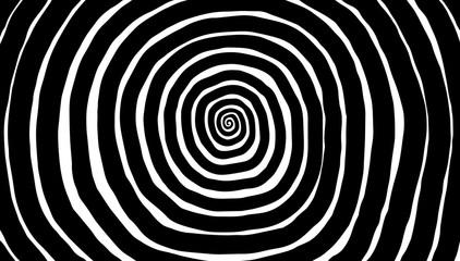 Spirala ilustracji, tło. Hipnotyczny, dynamiczny wir.