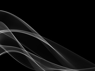 Abstract background made with real smoke