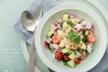 キヌアのサラダ Quinoa Salad