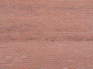 fond wall brick red