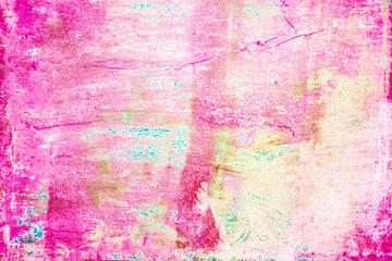 Trendy Summer  Art Background. Grunge Colorful  Textured Backdrop..
