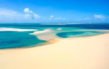 Bazaruto island clear waters