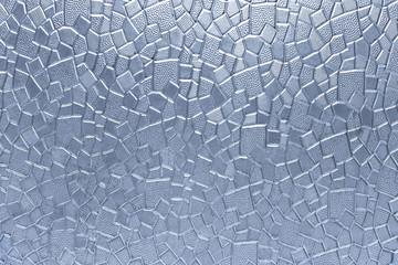 Szklana geometryczna deseniowa tekstura jako tło