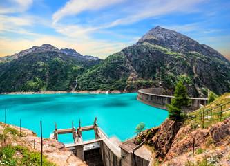Italy, Valle D'Aosta, Valpellin, Place Moulin lake