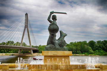 Monument to the Syrenka in Warsaw