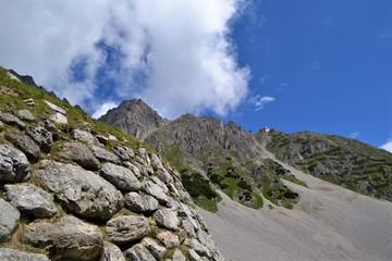 Felsige Berglandschaft