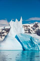 Icebergs along the Antarctic Peninsula