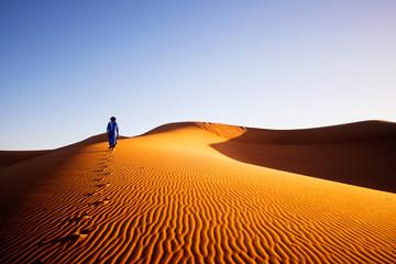 Samotnie na Saharze w Maroku