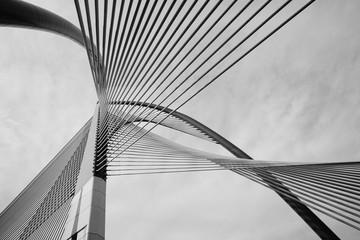 Nowoczesna architektura mostu