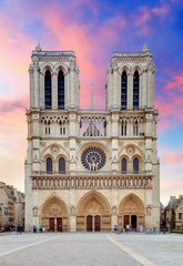 Notre Dame - Paris at sunrise