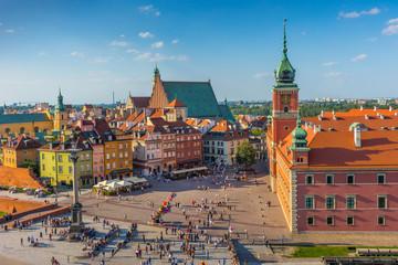 Warszawa, Plac Zamkowy, Stolica Polski