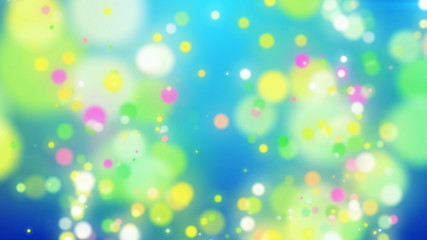 Abstract Colorful Holiday particles background.