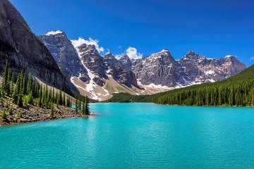 Moraine Lake, Banff, Alberta, Canada.