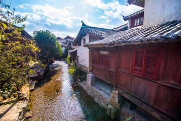 China Ancient City,Lijiang old town.