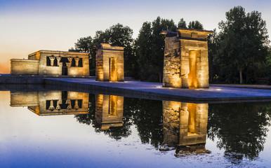 Madrid,templo Debod