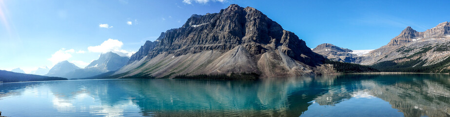 Bow Lake, Bow Glacier, Canada
