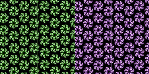 Flowers pattern, Backgrounds