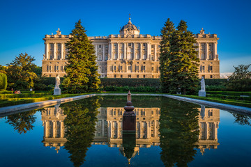 Royal Palace ,Famous monument of the city of madrid
