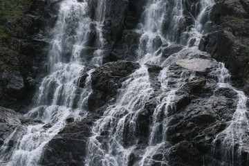Waterfall close up
