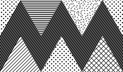 Wektorowy Bezszwowy wzór. Streszczenie geometryczne