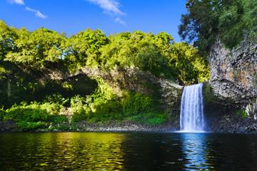 Waterfall of Bassin La Paix, Reunion Island